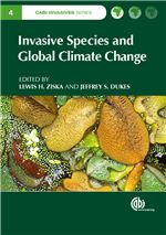 Book cover for Invasive species and global climate change.
