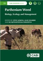 Book cover for Parthenium weed: biology, ecology and management.