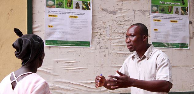 CABi to improve the farming for 50 million poor households by tackling invasive species