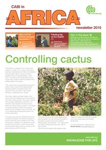 CABI in Africa newsletter 2015 front cover