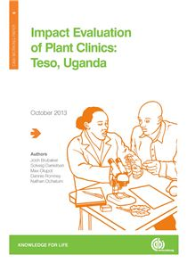 impact evaluation of plant clinics: Teso, Uganda