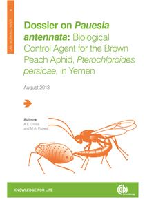 Brown peach aphid working paper