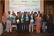 MAS in ICM class of 2017 graduation ceremony at Engelberg, Switzerland