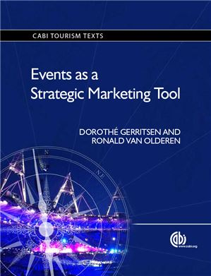 Events as a Strategic Marketing Tool. Van Olderen R and Gerritsen D. Biology and Breeding of Food Legumes.(2011) Edited By Pratap A, Kumar J