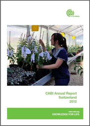 Cover thumbnail for the Swiss Centre Report