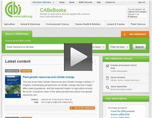 CAB eBooks training video
