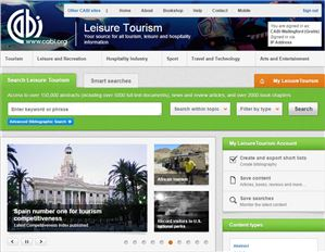 Leisure Tourism Database