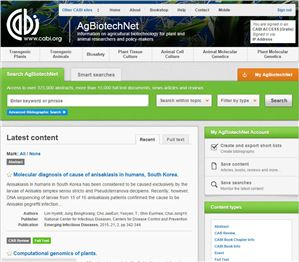 Agbiotechnet screen