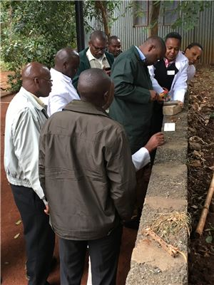 Training of taxonomists of scale insect collection, handling and identification