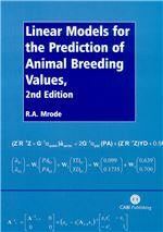 Book cover for Linear models for the prediction of animal breeding values.