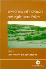 Book cover for Environmental indicators and agricultural policy.