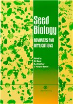 Book cover for Seed biology: advances and applications. Proceedings of the Sixth International Workshop on Seeds, Merida, Mexico, 1999.