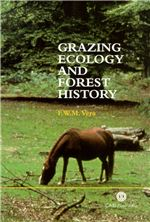 Book cover for Grazing ecology and forest history.
