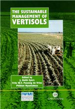 Book cover for The sustainable management of Vertisols.