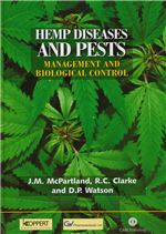 Book cover for Hemp diseases and pests: management and biological control - an advanced treatise.
