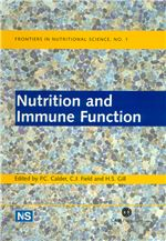 Book cover for Nutrition and immune function.