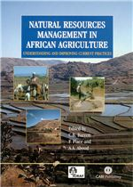 Book cover for Natural resources management in African agriculture: understanding and improving current practices.