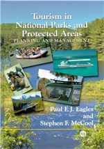 Book cover for Tourism in national parks and protected areas: planning and management.