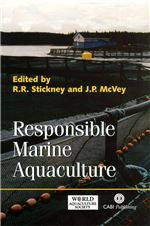 Book cover for Responsible marine aquaculture.