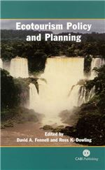 Book cover for Ecotourism policy and planning.