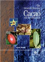 Book cover for The genetic diversity of cacao and its utilization.