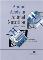 Book cover for Amino acids in animal nutrition.
