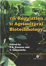 Book cover for The regulation of agricultural biotechnology.