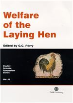 Book cover for Welfare of the laying hen. Papers from the 27th Poultry Science Symposium of the World's Poultry Science Association (UK Branch), Bristol, UK, July 2003.