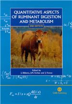Book cover for Quantitative aspects of ruminant digestion and metabolism.