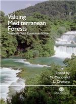 Book cover for Valuing Mediterranean forests: towards total economic value.