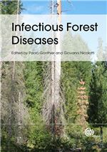 Book cover for Infectious forest diseases.