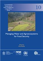 Book cover for Managing water and agroecosystems for food security.