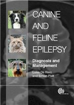 Book cover for Canine and feline epilepsy: diagnosis and management.