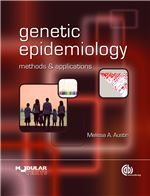 Book cover for Genetic epidemiology: methods and applications.