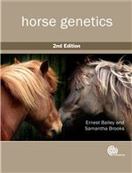 Book cover for Horse genetics.
