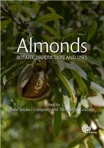 Book cover for Almonds: botany, production and uses.