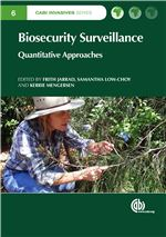 Book cover for Biosecurity surveillance: quantitative approaches.