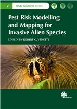 Book cover for Pest risk modelling and mapping for invasive alien species.