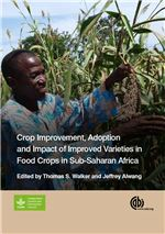 Book cover for Crop improvement, adoption, and impact of improved varieties in food crops in sub-Saharan Africa.