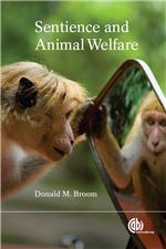 Book cover for Sentience and animal welfare.