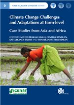 Book cover for Climate change challenges and adaptations at farm-level: case studies from Asia and Africa.
