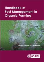 Book cover for Handbook of pest management in organic farming.