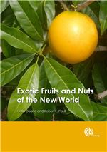 Book cover for Exotic fruits and nuts of the New World.