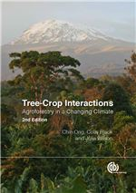 Book cover for Tree-crop interactions: agroforestry in a changing climate.