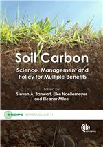 Book cover for Soil carbon: science, management and policy for multiple benefits.