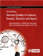 Book cover for Service quality in leisure, events, tourism and sport.