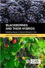 Book cover for Blackberries and their hybrids.