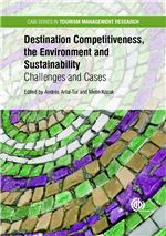 Book cover for Destination competitiveness, the environment and sustainability: challenges and cases.