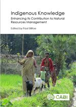 Book cover for Indigenous knowledge: enhancing its contribution to natural resources management.