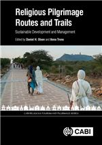 Book cover for Religious pilgrimage routes and trails: sustainable development and management.
